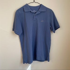 Vineyard Vines Classic Fit Blue Blouse Size XSmall